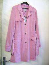 Manteau léger CECIL rose taille S neuf + étiquette valeur 110 E