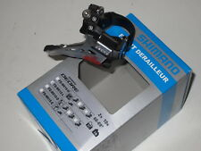 Shimano Deore 2x10 Front Derailleur, Fd-M618-L / Top Swing, Down Pull, Low Clamp