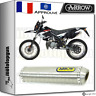 ARROW SILENCIEUX MINI-THUNDER TITANE HOM DERBI SENDA 50 SM XRACE 2009 09 2010 10