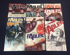 FABLES #1-100 : HUGE RUN! : VERTIGO COMICS 2002 : BILL WILLINGHAM : FIRST PRINTS