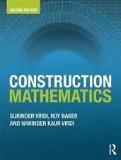 Construction Mathematics (Paperback or Softback)