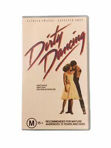 Dirty Dancing VHS - Patrick Swayze, Jennifer Grey Video