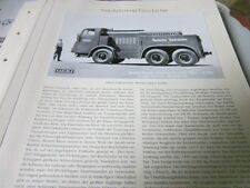 Nutzfahrzeug Archiv 1 Geschichte 1480 Kaelble Diesel Zugmaschine Reichsbahn