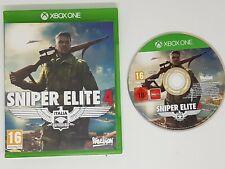 SNIPER ELITE 4 GAME  Xbox One FAST FREE POST VGC