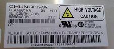 PANEL LCD CLAA201WA 04 PARA SAMSUNG LS20TDDSUVEN