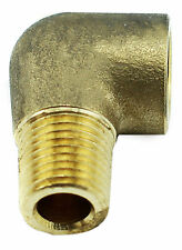 """Brass Elbow Fitting – ¼"""" Female x ¼"""" Male BSP 1000PSI Tapered"""