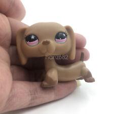 Littlest Pet Shop Toys LPS 932 Dachshund Weiner Dog Pink Star Eyes Puppy  Hasbro
