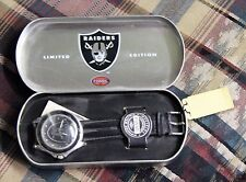 Oakland Raiders Fossil Men Watch from 1993 Sport NFL never worn with tin limited