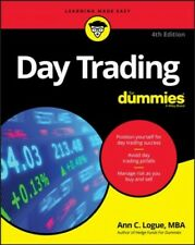Day Trading for Dummies, Paperback by Logue, Ann C., Brand New, Free shipping