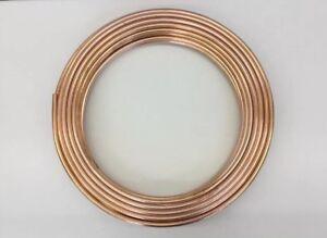 Kupferrohr 6 mm x 1 mm Ölleitung Heizölleitung Kupfer Rohr weichgeglüht