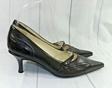 Laura Ashley    Genuine Leather  court Shoes   UK 4