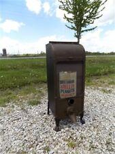 Coffee Bean Dispenser Brass Display Case Vintage Peanut Vending Machine Cabinet