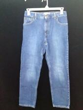 Levi Strauss relaxed fit denim womens size 12S short medium wash misses