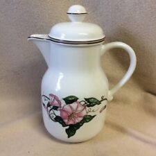 "NWOT VILLEROY & BOCH Porcelain Coffee Pot Server & Lid~PALERMO~9"" tall"