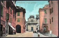 cartolina CAMPOROSSO-piazza garibaldi