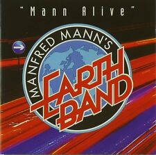 CD-Manfred Mann 's Earth Band Uomo Alive a469