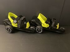 Cardiff Skate Co. Roller Skate Size Youth Cruiser Yellow and Black