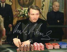 Mads Mikkelsen ++ Autogramm ++ James Bond ++ Hannibal ++ Star Wars ++ Autograph