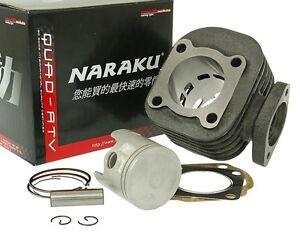 Zylinder Zylinderkit Naraku V.2 70ccm Sport für Kymco liegend AC 2T SF10 Motor