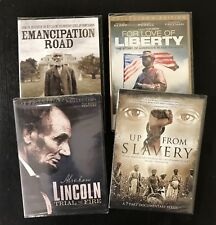 """NEW African-American 4-DVD history documentary collection """"Up From Slavery"""""""
