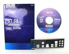 ASUS P6T SE Handbuch - Blende - Treiber CD   #29597