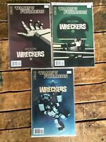 Transformers Last Stand of the Wreckers #3-5 **3 ISSUE LOT** (IDW 2010) Cover B
