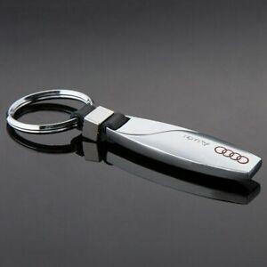 AUDI Car Logo Teardrop Metal Keyring key chain Fob Gift Best Quality UK SELLER