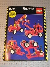 Notice Building instruction booklet LEGO TECHNIC / 8044 universal pneumatic set