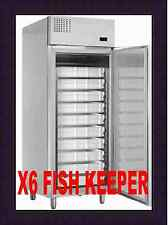 MERCATUS X6 STAINLESS STEEL FISH KEEPER REFRIGERATOR @ £1496+Vat & FREE DELIVERY