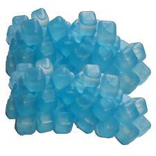 100 Party Eiswürfel blau wiederverwendbar Eiswürfelform Cocktail Dauereiswürfel
