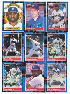 1988 Donruss Chicago White Sox Complete Team Set!
