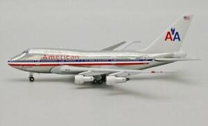 JC Wings American Airlines Boeing B747SP Polished Livery JC4AAL965 1:400 Scale