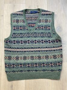 Polo Ralph Lauren Fair Isle Vest Jumper Sweater