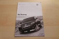 82846) VW Touareg - Preise & Extras - Prospekt 03/2003