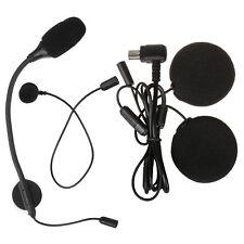 Helmet Headset Speaker Accessory for Bluetooth Motorcycle Intercom Interphone mc
