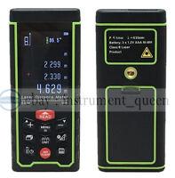 SW-S50 USB Rechargeabel Color 50M Laser distance meter rangefinder