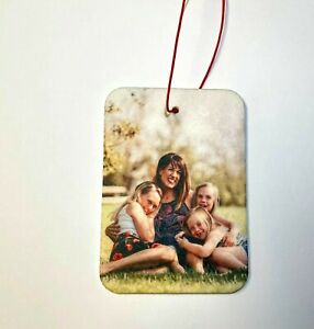 Personalised Car Air Freshener Birthday Gifts For Her Him Friend Auntie Mum Dad