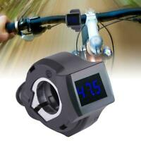 Digital LED Voltmeter Voltage Display Gauge Meter for All Bike Electric Scooter
