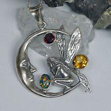 Handgefertigt Echtschmuck-Halsketten & -Anhänger aus Sterlingsilber mit Bewusstsein