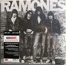 RAMONES LP Ramones Debut 180 Gram Analog ReMastered Blitzkrieg Bop NEW SEALED