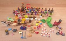 Bundle Of 36 x Mixed Playmobil Figures + Accessories Animals Vehicles