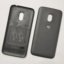 Negro Pila Funda para Motorola Moto G4 Original Pieza de Repuesto