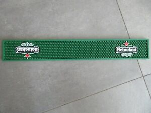 Tapis de bar bière Heineken