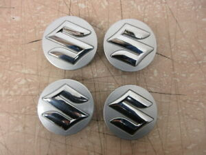 2014 Suzuki Swift Sport 1.6 Alloy Wheel Centre Caps (Set of 4)