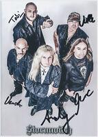 Stormwitch - hand signed Autograph Autogramm  Autogrammkarte original signiert