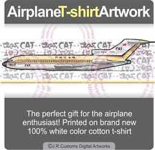 T-shirt for CAT Civil Air Transport Boeing 727 Fans