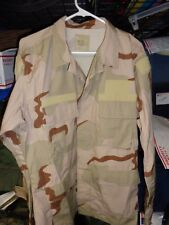 RAID MODIFIED  DESERT STORM TACTICAL Shirt/ Coat LARGE REGULAR  W/ HOOK  X5