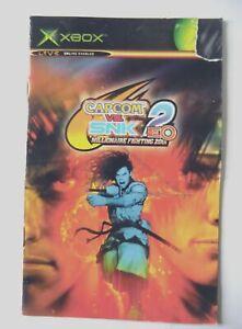 51575 Instruction Booklet - Capcom Vs. SNK 2 EO - Microsoft Xbox (2002)