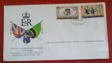 First day of issue, 1977 Tanzania ,  Silver Anniversary Coronation Queen EII