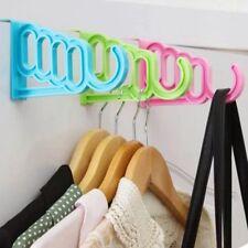 Door Back Rack Holder Hanging Hook Hanger Clothes Cupboard Storage Organizer